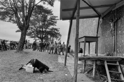 Cristina Garcia Rodero, 'SPAIN. Galicia. Losón. 1982. Mercy. Pilgrimage of Nuestra Senora del Corpino.', 1982