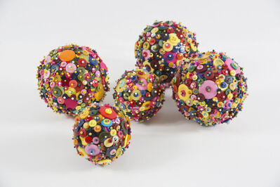 Diana Wolzak, 'Cosmic Button Balls ', 2019