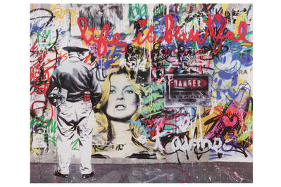 Mr. Brainwash, 'Life Is Beautiful' Exhibition Poster'