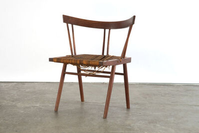George Nakashima, 'Prototype grass seat chair', 1947