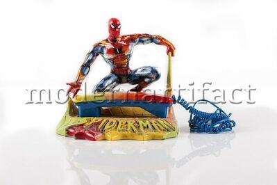 Steve Kaufman, 'Spiderman Marvel Phone', 2000