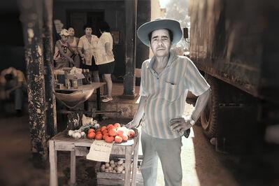 E.K. Waller, 'Man Selling Tomatos', 2013