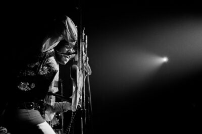 Jim Marshall, 'Jimi Hendrix on Stage Winterland, San Fransisco, 1968', 2017