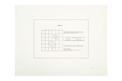 Art & Language, 'Potato Print Model 1', 1967