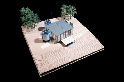 Jean Prouvé, '6x6 house adaptation by award-winning British architecture practice Rogers Stirk Harbour + Partners (RSHP)'