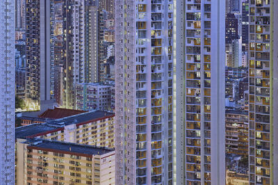 Romain Jacquet-Lagrèze, ''The Blue Moment #3' Hong Kong', 2016