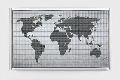 Santiago Montoya, 'World Map (Vale un Peru)', 2018