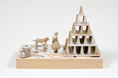 Eric Lamontagne, 'Mystérieuse pyramide', 2021