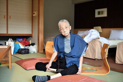 Takahiro Kaneyama, 'My Mother in a Hotel in Hakone', 2019