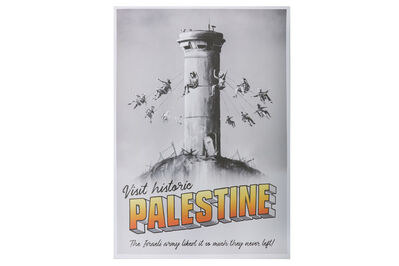 Banksy, 'Walled Off Palestine Poster'