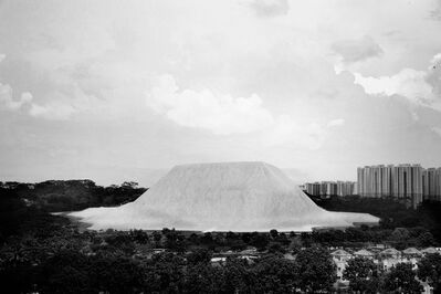 Robert Zhao Renhui, 'Sand from Ulu Tiram, Bukit Panjang, Singapore (diptych work; right side) - from the series 'Singapore 1925 - 2025'', 2014