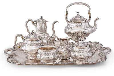 Gorham Martele, 'Gorham Martele Silver Tea & Coffee Service'
