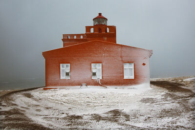 Christophe Jacrot, 'The Lighthouse (Snjór series)', 2014-2016