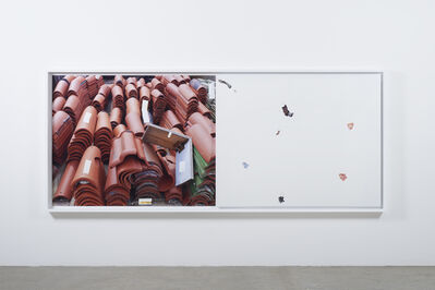 Analia Saban, 'Markings (from Roof Tiles)', 2014