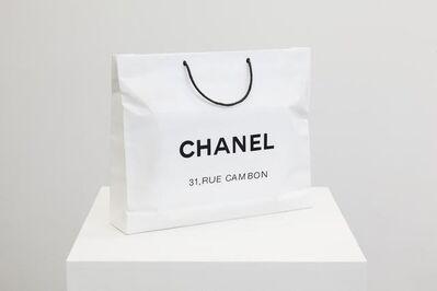 Sylvie Fleury, 'Chanel Shopping Bag', 2008