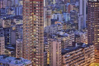 Romain Jacquet-Lagrèze, ''The Blue Moment #1' Hong Kong', 2016