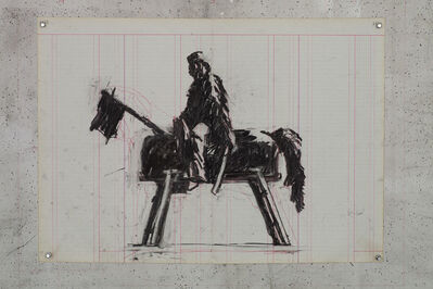 William Kentridge, 'Garibaldi ', 2015