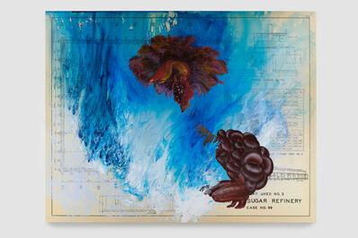 Firelei Báez, 'Convex (recalibrating a blind spot)', 2019