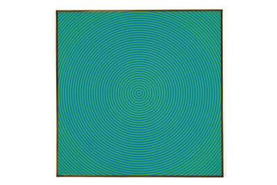 Claude Tousignant, 'Bleu + Vert = Jaune', 1965