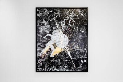 Joseph Klibansky, 'Forever Mine (Black/White, Gold, Pink and White Splash)', 2021