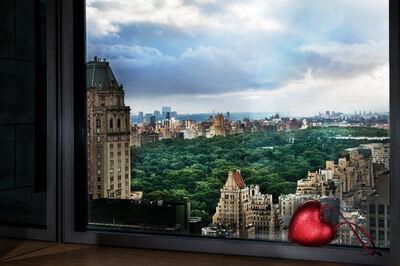 David Drebin, 'Love over Central Park', 2018