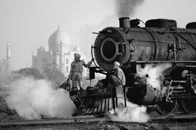 Steve McCurry, 'Taj and Train', 2016