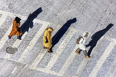 Mitchell Funk, 'Synchronous Pedestrians', 2019