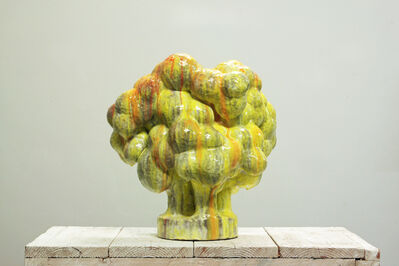 David Hicks, 'Yellow Shrub', 2020