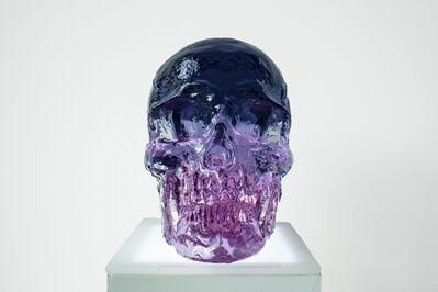 Sam Tufnell, 'Violet Crystal Skull', 2018