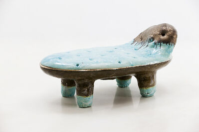 Lee Hun Chung, 'Low Bench in Glazed Ceramic', 2016