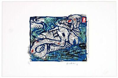 Pierre Alechinsky, 'Dix-septième arrondissement (Paris)', 1983
