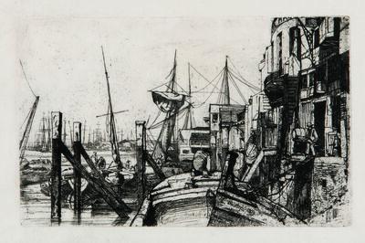 James Abbott McNeill Whistler, 'Limehouse', 1859