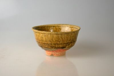 Takahashi Rakusai IV, 'Rare Shigaraki Tea Bowl in Shape of Korean Irabo', 20th Century