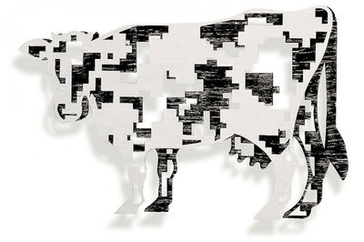 David Gerstein, 'Digital cow', 1996