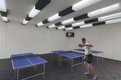 Kristopher Karklin, 'Ping Pong Room, Camp Life Series', 2011