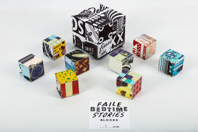FAILE, 'Faile Bedtime Stories Blocks', 2010
