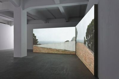 Peter Welz, 'casa malaparte [curved wall | double]', 2014