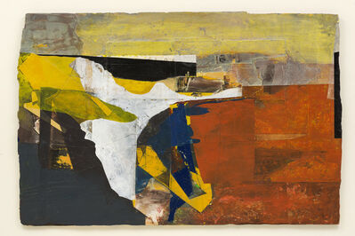 Jeremy Gardiner, 'Saffron Sea, Birling Gap', 2019
