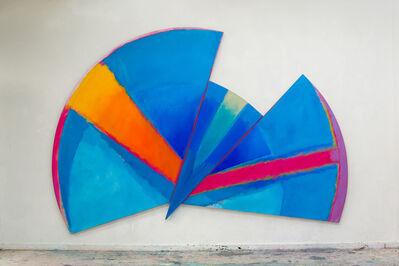 Trevor Bell, 'Blue Radial', 1985