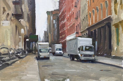 Marc Dalessio, 'Morning Deliveries, Soho', 2019