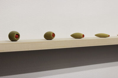 Martí Cormand, 'Meeting Point: Olive/Toothbrush 1', 2016
