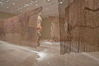 El Anatsui, 'Gli (Wall)', 2010
