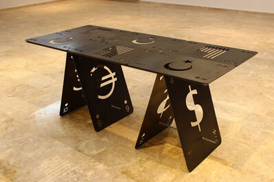 "Firat Engin, '""Masa da masaymış ha!"" // ""Table""', 2015"