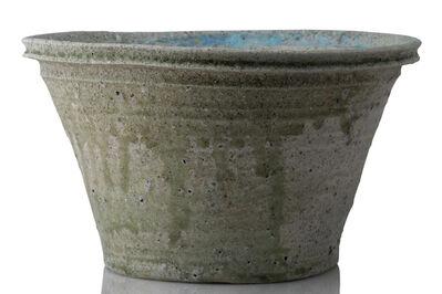 Yui Tsujimura, 'Natural ash glaze bucket', 2018