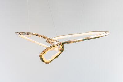 Markus Haase, 'Markus Haase, Bronze and Onyx Circlet Chandelier III, DE', 2020
