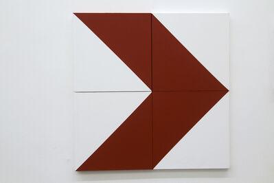 Raul Mourão, 'Seta de rua (4 isosceles) # 1', 2014