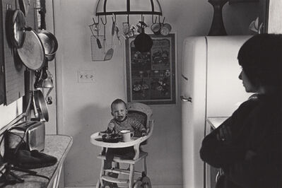 Ed Sievers, 'Untitled (Baby in highchair)', ca. 1970