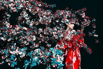 Erik Madigan Heck, 'Brianna in Crab Apple Tree, The Garden', 2020