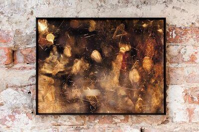 Igor Eskinja, 'Golden fingers of Louvre', 2017