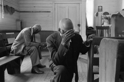 Constantine Manos, 'Man Praying, Daufuskie Island, South Carolina', 1952